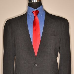Jos A Bank 43L Sport Coat Blazer Suit Jacket